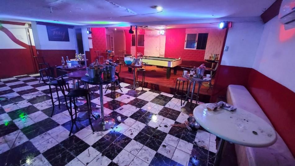 Más de 500 bebidas alcohólicas en venta: Detienen a organizador de fiesta clandestina en Colina