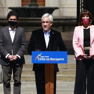 Piñera anuncia plan de subsidio al empleo: Se enfoca en la contratación de mujeres y jóvenes