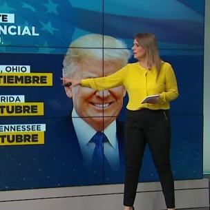 Expectación en EEUU por el primer debate entre Trump y Biden