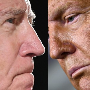 Sigue en vivo el debate entre Donald Trump y Joe Biden