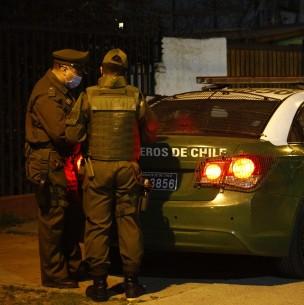 Detenidos intentaron atropellar a carabineros tras evadir control policial