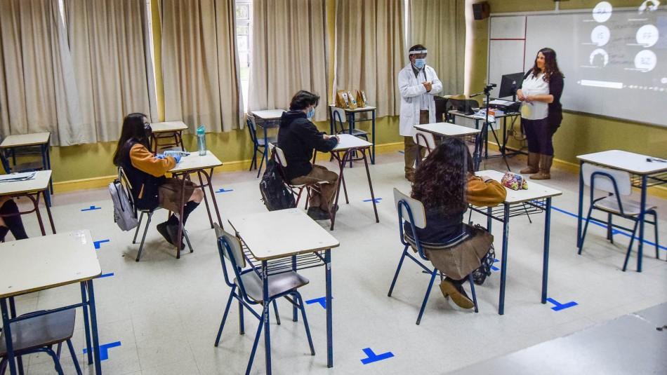 Los colegios que volvieron a clases presenciales y los que lo harán dentro de los próximos días