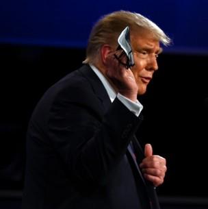 Debate EEUU: Trump y Biden se enfrentan por el uso de la mascarilla contra el coronavirus