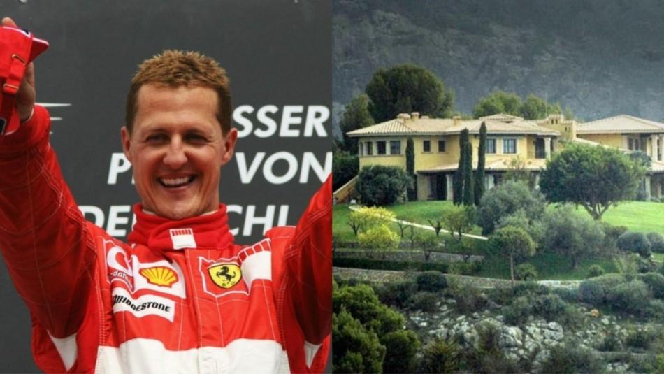 Michael Schumacher está internado en esta lujosa mansión.