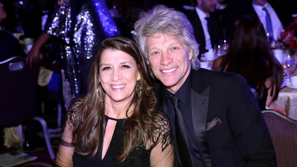 Bon Jovi y la intensa historia de amor con su novia de secundaria: Llevan 40 años juntos