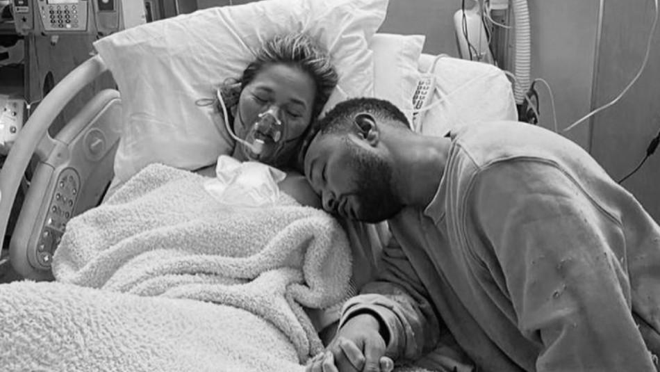 John Legend y su pareja Chrissy Teigen pierden a su bebé tras aborto espontáneo