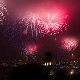 En duda celebración del Año Nuevo en la Región de Valparaíso