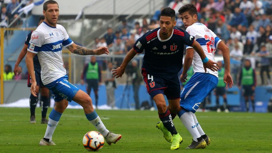 Este domingo se juega el Clásico Universitario.