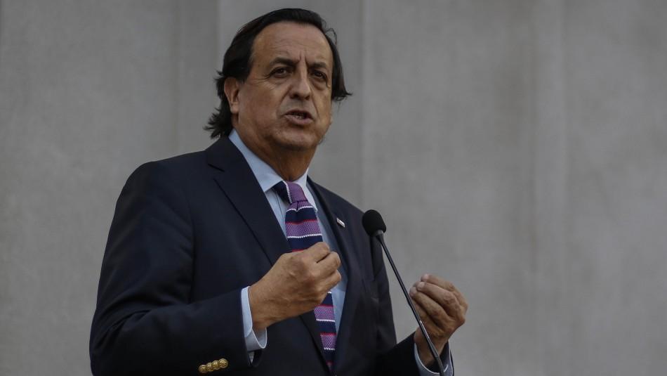 Ministro Pérez e inscripción para primarias: