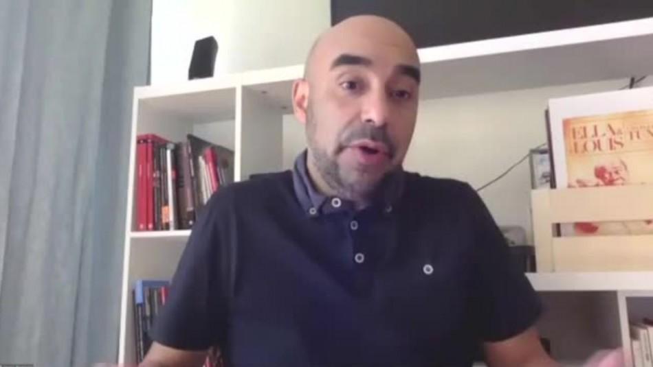 Jorge Ramírez, líder de Comunes: