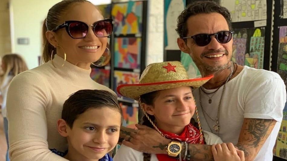 La hija de Jennifer Lopez cada día se parece más a su papá: