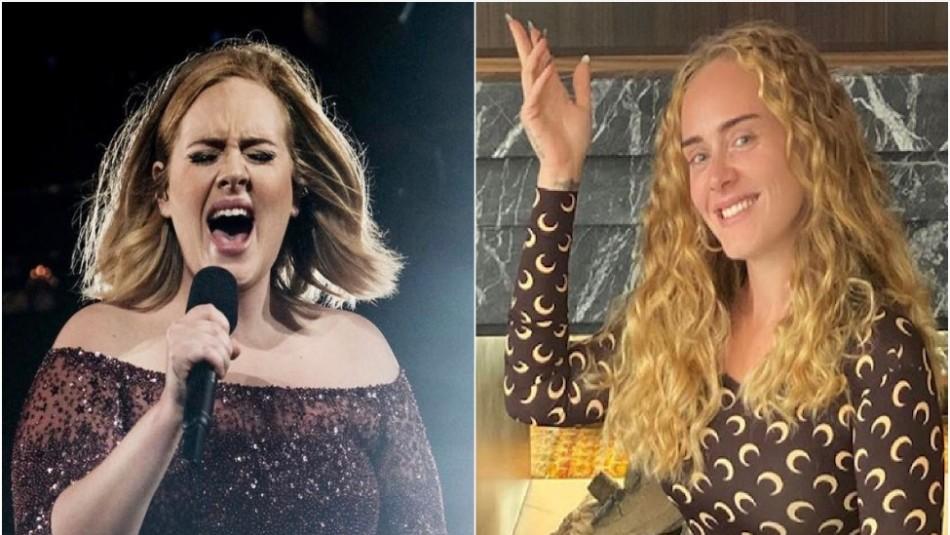 Adele reaparece en las redes sociales y se deja ver en la intimidad