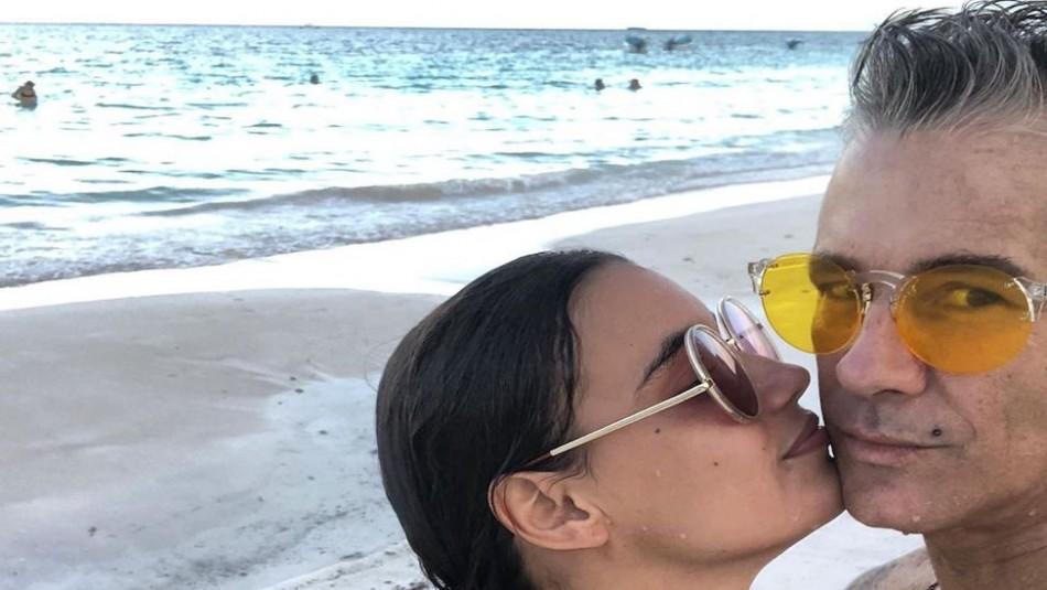 Fernando Carrillo explota en las redes sociales cuando critican a su novia embarazada