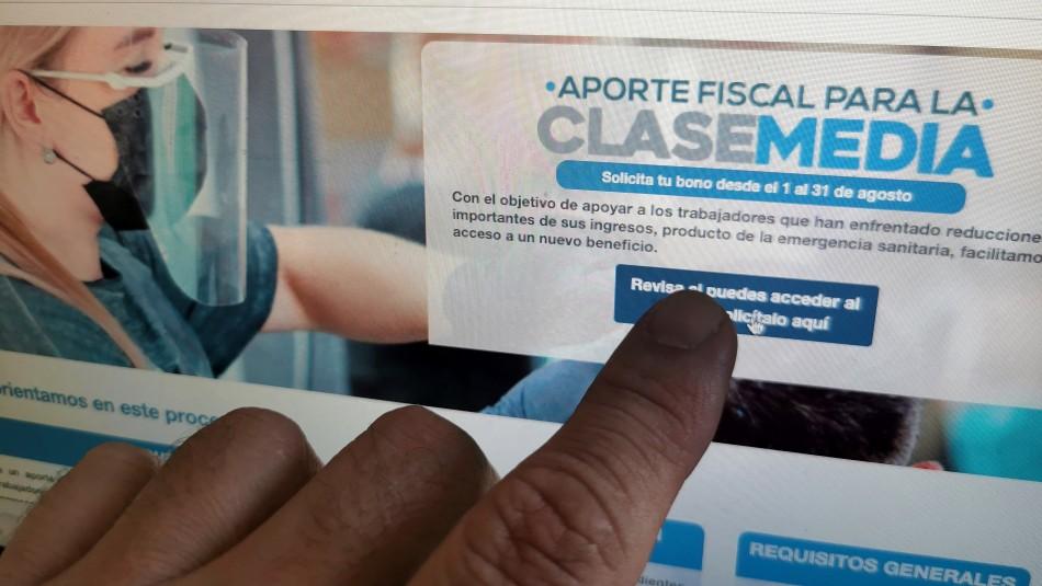 Más de 437 mil personas recibieron el bono de $500 mil sin cumplir requisito de renta