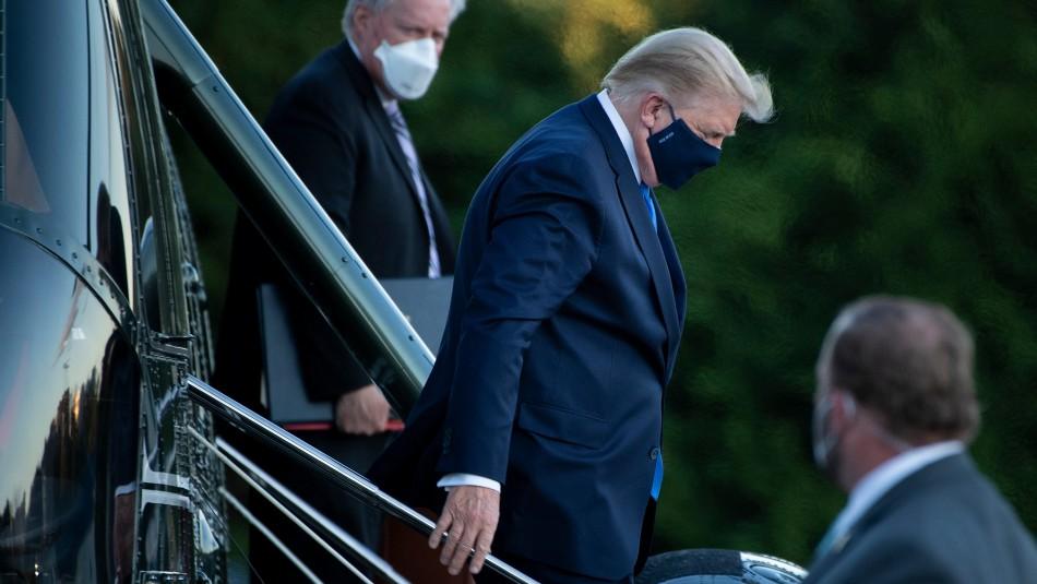 Trump por su hospitalización debido al coronavirus: