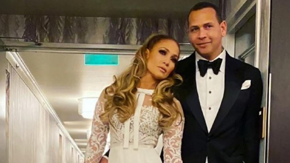 Las fotos sin filtros corren por Internet: Jennifer Lopez y su novio se escaparon a la playa