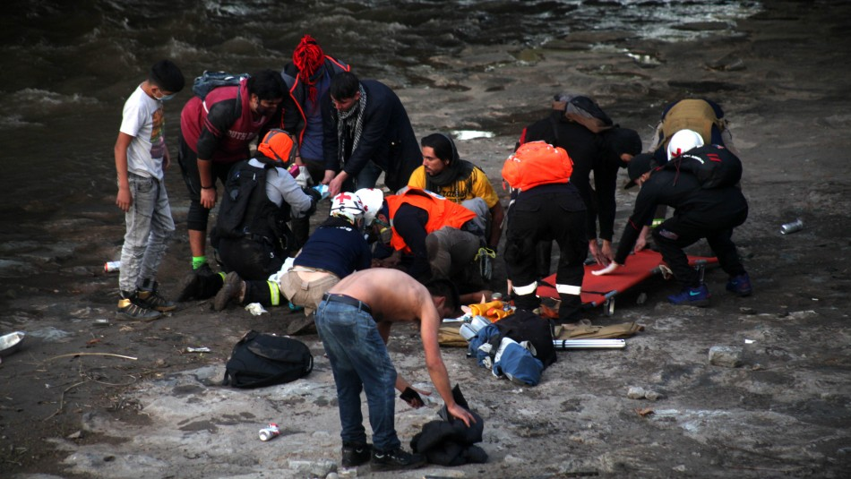 Carabineros descarta participación en caída de joven al río Mapocho