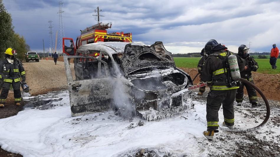 La Araucanía: Trabajador muere baleado tras ataque incendiario en Collipulli