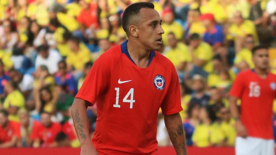 Otro menos en La Roja: Cuerpo técnico libera a Fabián Orellana por lesión