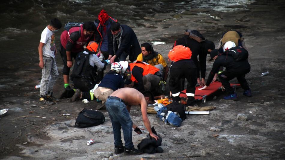Detienen a carabinero por provocar caída de adolescente desde Puente Pío Nono