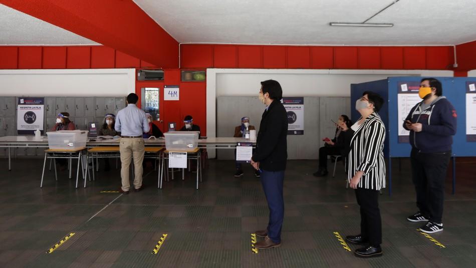 Plebiscito: Un 53,1% de las personas habilitadas acudirán a votar el 25 de octubre