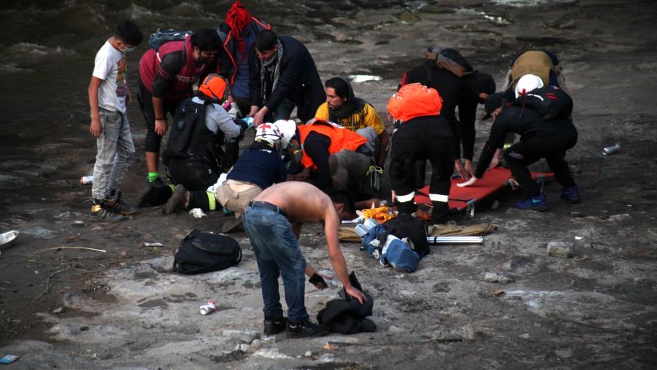 Fiscalía investigará a más carabineros por tratar de encubrir caída de joven al río Mapocho
