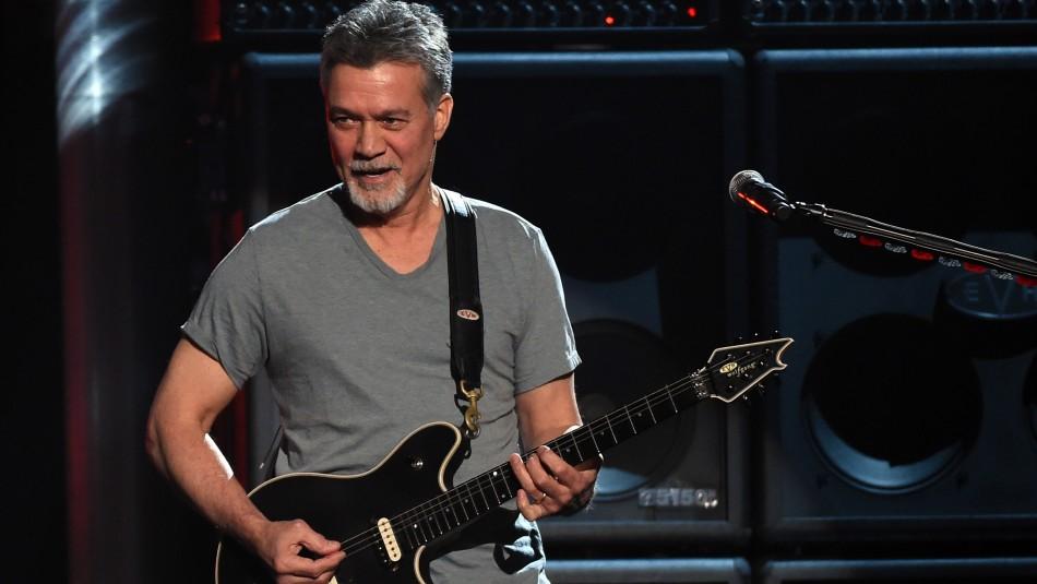 Muere legendario guitarrista Eddie Van Halen a causa de un cáncer de garganta