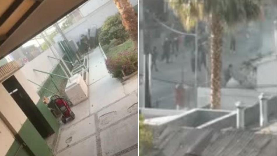 Comisaría de Puente Alto sufre ataque: Un carabinero resultó lesionado