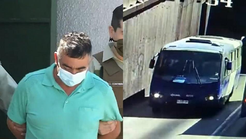 Sujeto que robó bus del Transantiago recorrió tres comunas antes de ser detenido