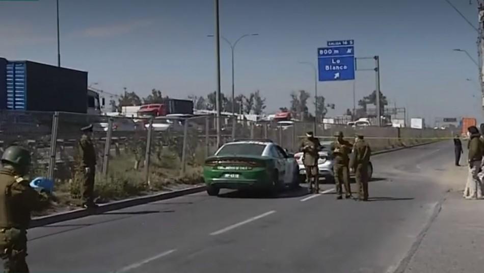 Asaltante muere baleado tras operativo policial por robo y secuestro de camión