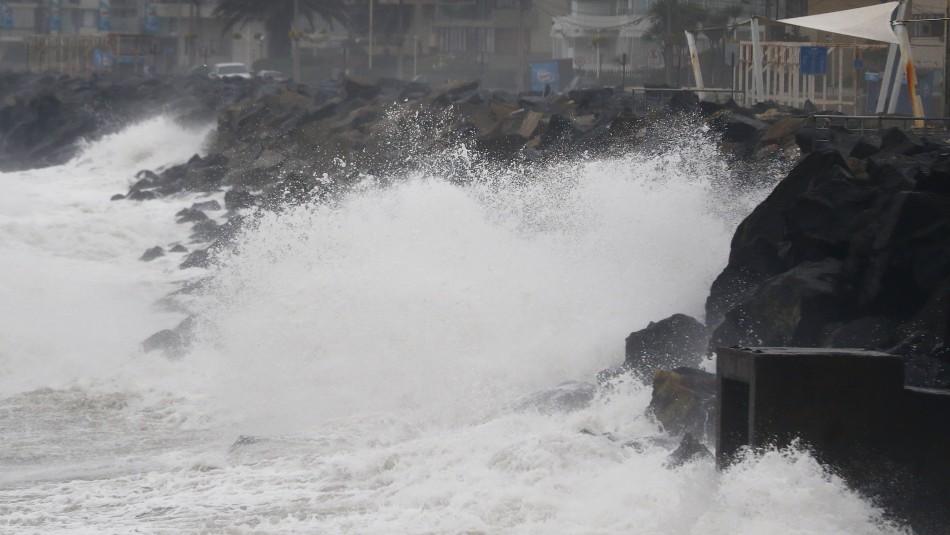 Nuevo aviso de marejadas para las costas del país: Se extenderá hasta el viernes