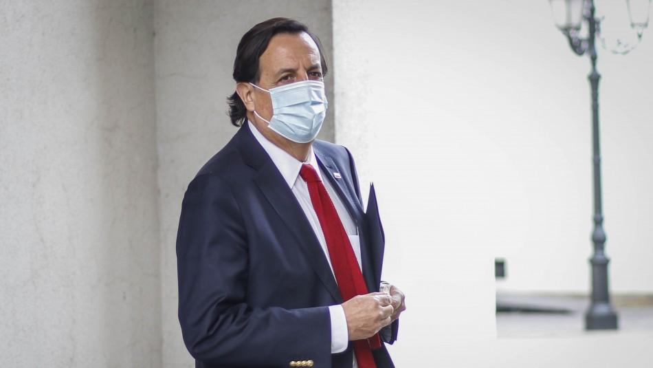 Este jueves se presentará acusación constitucional contra ministro Pérez