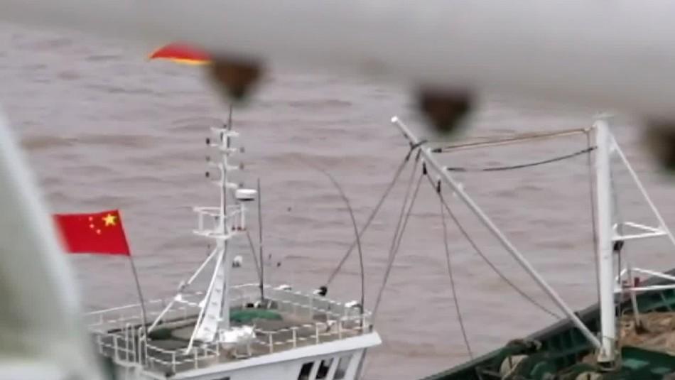 Flota China: Alerta por barcos pesqueros cerca de las costas chilenas