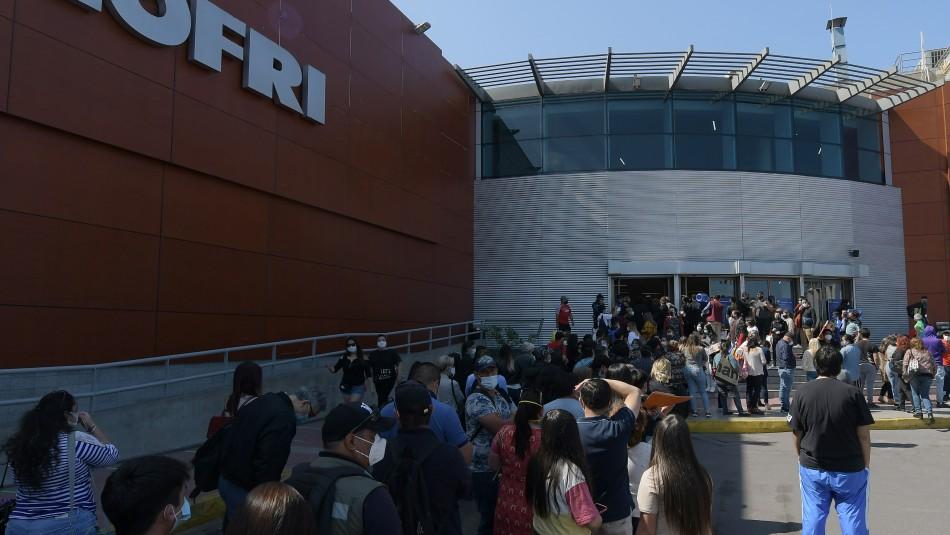 Mall Zofri volvió a abrir sus puertas en Iquique.