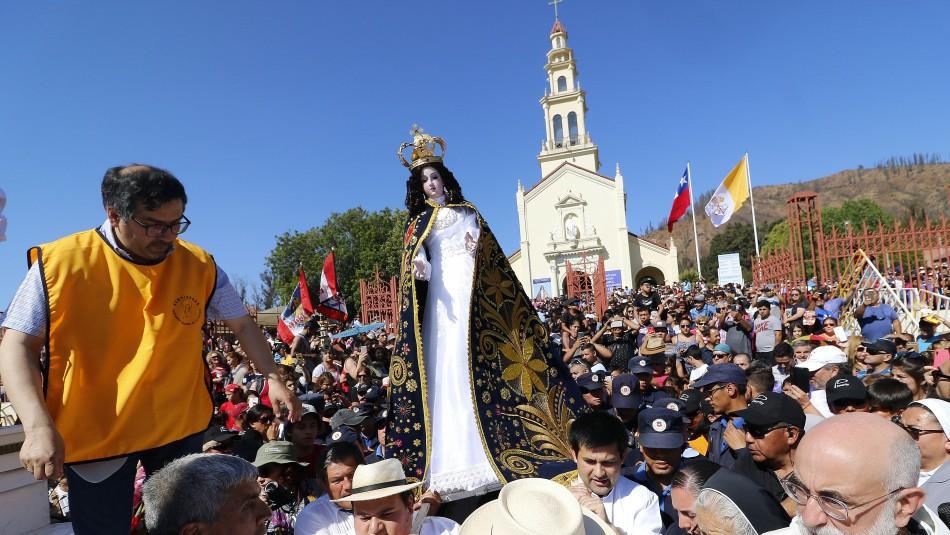 Suspenden peregrinación a Lo Vásquez debido a la pandemia