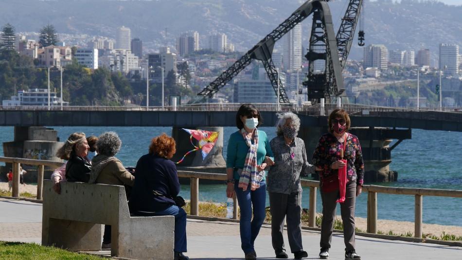 Cambios en cuarentenas: Viña del Mar y Valparaíso pasan a Transición