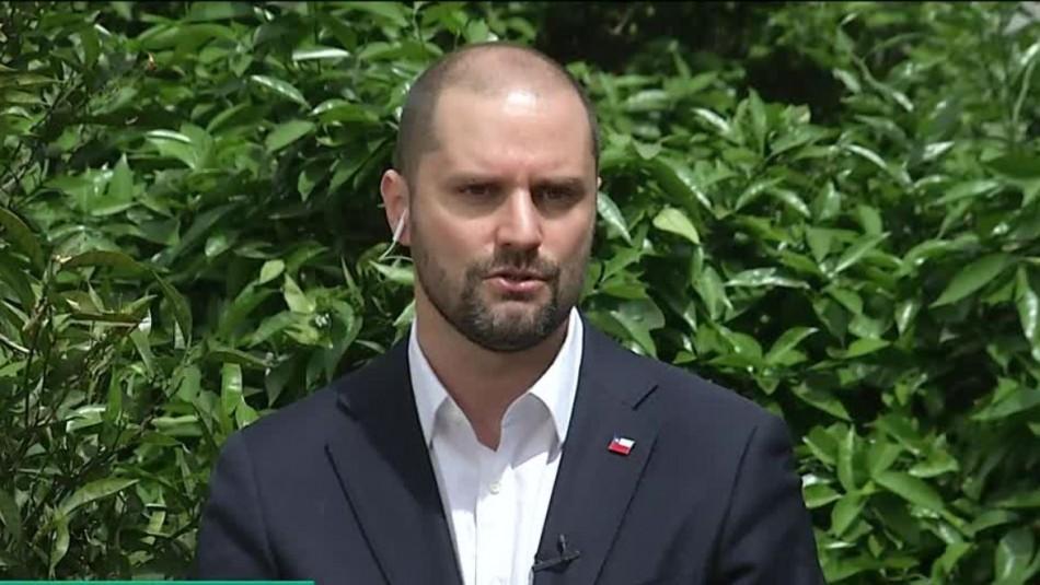 Entrevista al vocero de Gobierno, Jaime Bellolio