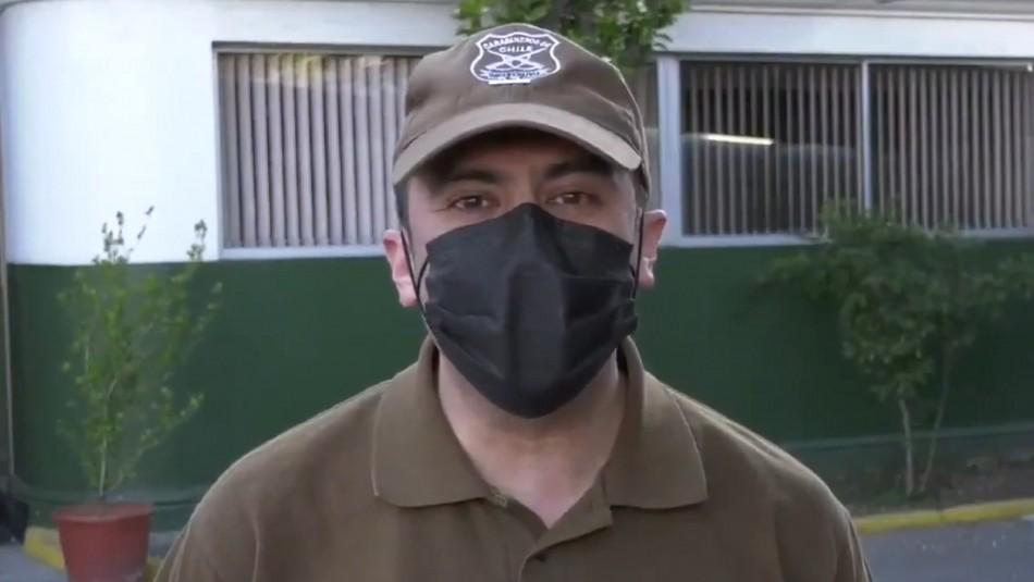 Carabinero acusa filtración de datos tras ser controlado cerca del domicilio de fiscal Chong
