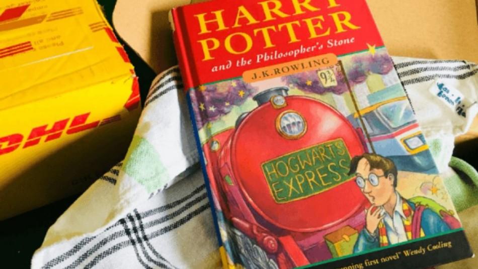 Tenía primera edición de Harry Potter y no lo sabía: La subastará en 65 mil dólares