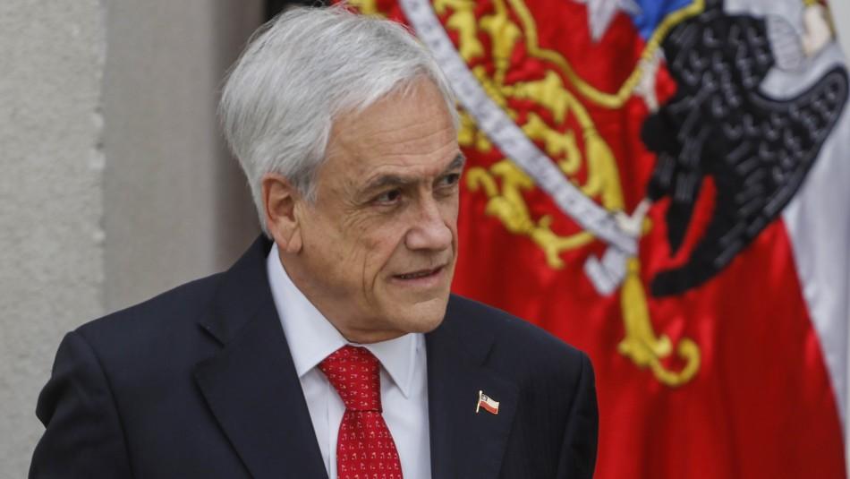 Cadem: Aprobación de Piñera baja a 18% y su desaprobación aumenta a un 75%