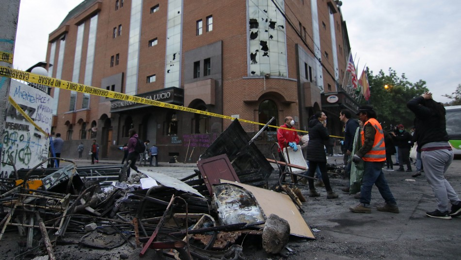 Fiscalía pide hasta 29 años de cárcel para imputados por ataque a Hotel Principado
