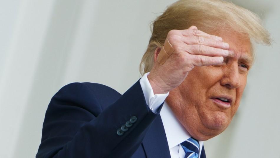 Donald Trump ya no es contagioso de coronavirus según su médico