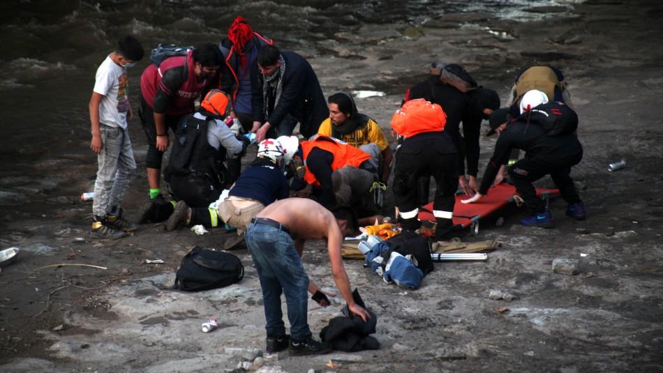 Carabinero imputado por caída de joven al río Mapocho:
