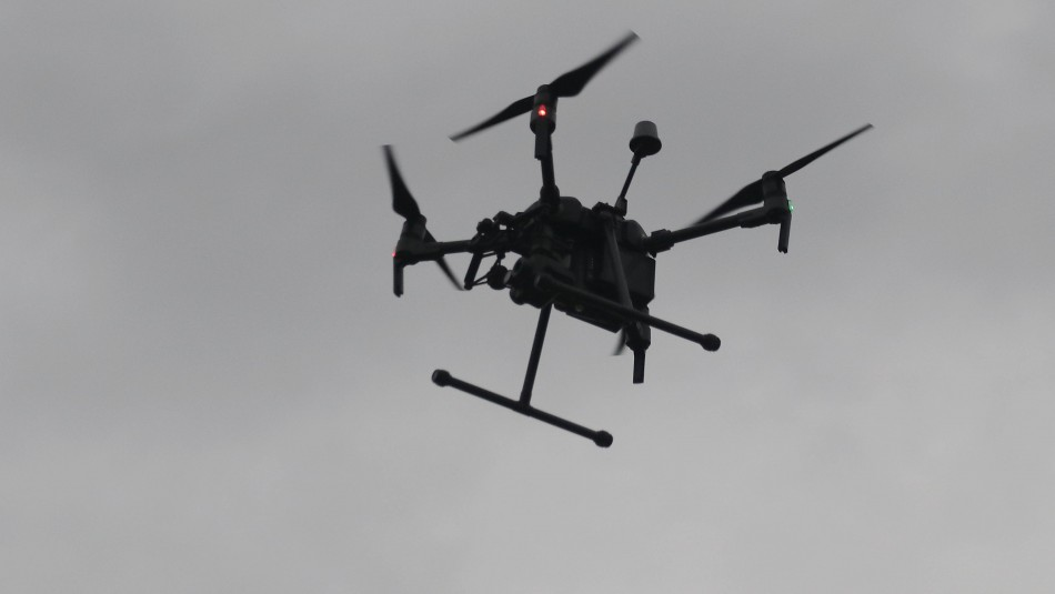 Gendarmería derribó dron que trató de ingresar droga a la cárcel