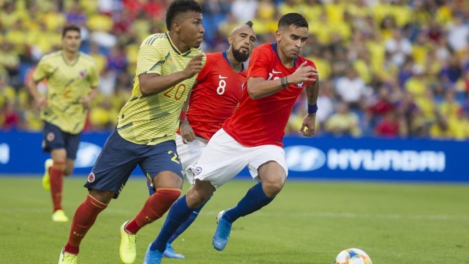Esta es la formación de Chile ante Colombia.