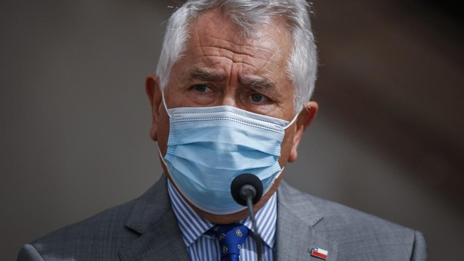 Ministro Paris habla de endemia del coronavirus: