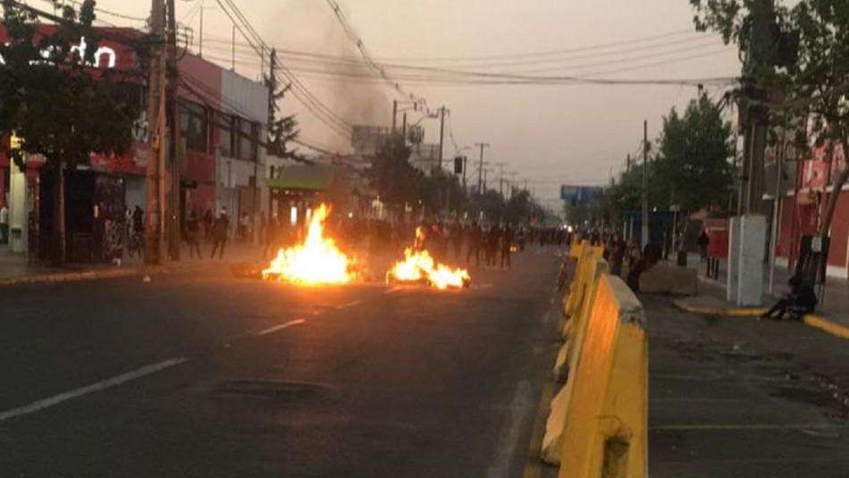 Incidentes y cierre de estaciones de Metro marcan jornada de manifestaciones en Puente Alto