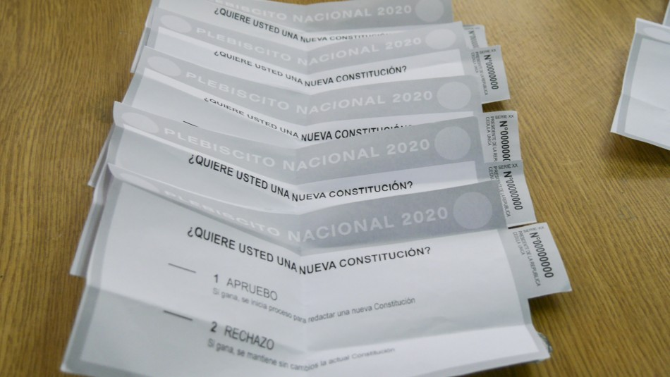 Conoce cuántas papeletas de votación recibirás en el Plebiscito del 25 de octubre