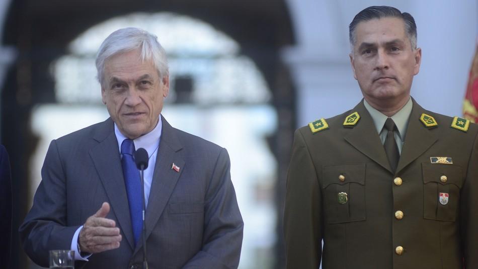 Aprueban resolución que solicita a Piñera pedir la renuncia o llamar a retiro a Mario Rozas