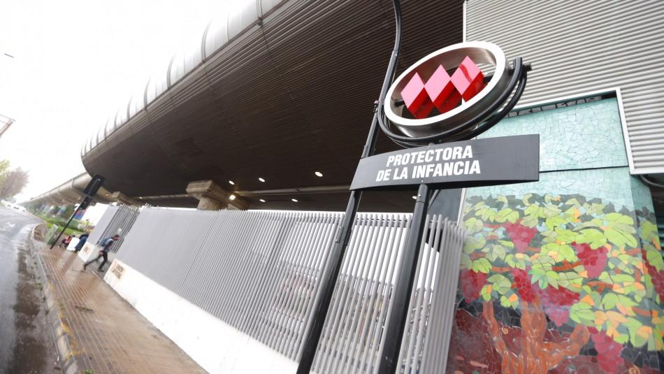 Metro: Manifestaciones obligan a cerrar estaciones en Puente Alto